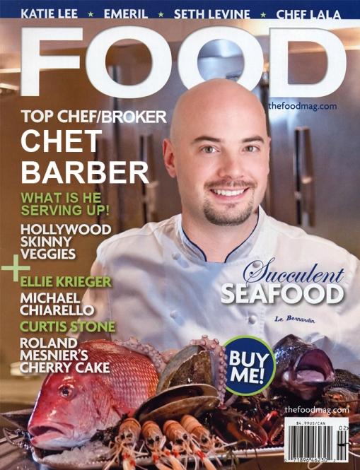 Food Magazine Cover Chet